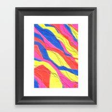 Untitled - Neon Framed Art Print