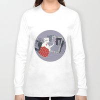 mirror Long Sleeve T-shirts featuring mirror by liva cabule