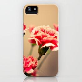 Carnation iPhone Case