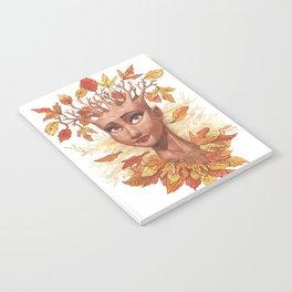 Fall Goddess Notebook