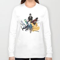 guardians Long Sleeve T-shirts featuring The Guardians by Kiell R.