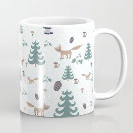 Forest pattern Coffee Mug