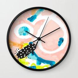 Confetti Celebration Wall Clock