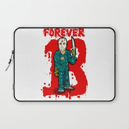 Jason Vorhees just won't stop...  EVER!  Friday the 13th is ETERNAL! Laptop Sleeve