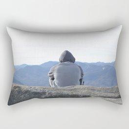 up,high and free Rectangular Pillow
