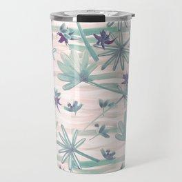 Sea floral print Travel Mug
