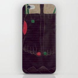 6 finger iPhone Skin