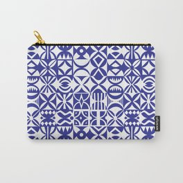 Geometric hydraulic tiles Carry-All Pouch