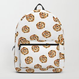 Pattern design with chocolate chip cookies Backpack