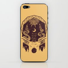 The Lightning Filled Night iPhone & iPod Skin