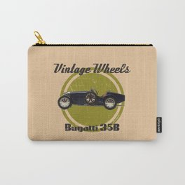Vintage Wheels: Bugatti 35B Carry-All Pouch