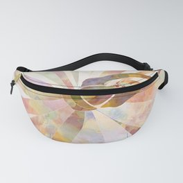 Sleeping Ballerina Floral - Gold Summer Palette Fanny Pack