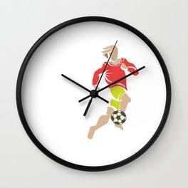 Soccer Football Championship Goal Nation Penalty Russia 5 Wall Clock