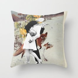 Animal Love Throw Pillow