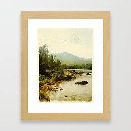 Baxter State Park Framed Art Print