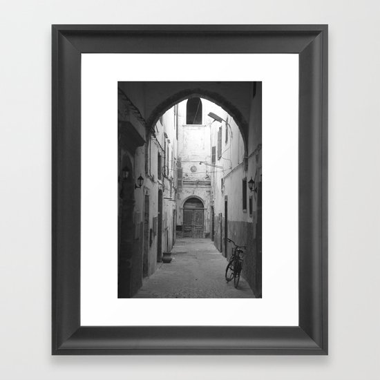 Marrakesh Alley Framed Art Print