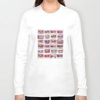 records Long Sleeve T-shirts featuring Nobody's records by kubizm