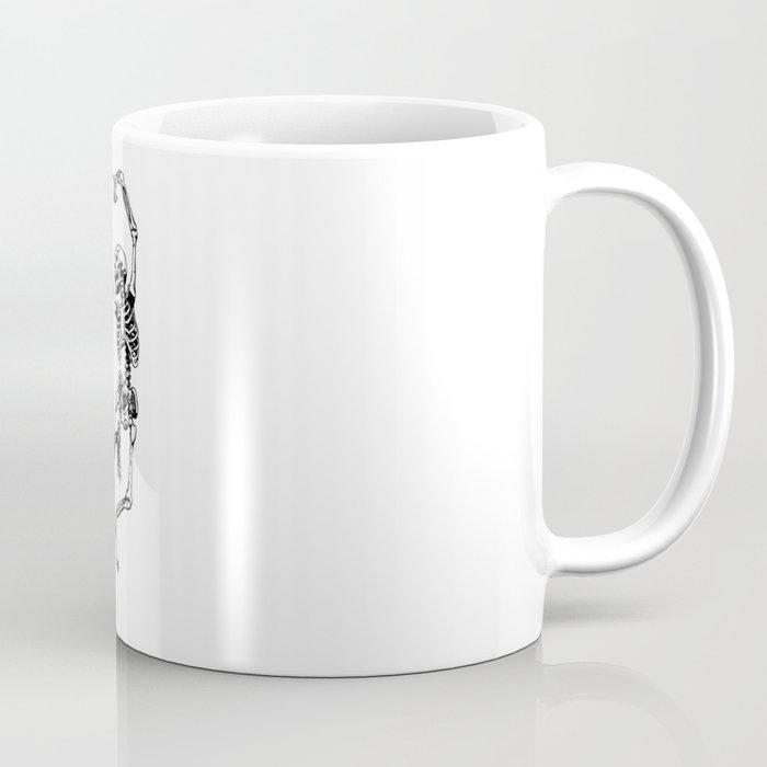 DANCING SKULL Coffee Mug