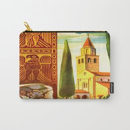 Aquileia Italy - Vintage Travel Carry-All Pouch