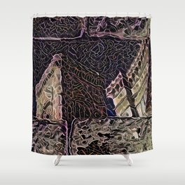 Florentine Cathedral Reflection Shower Curtain