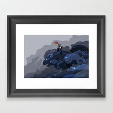 Rainy Day Activities Framed Art Print