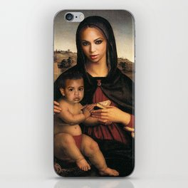 Bey and Blue  iPhone Skin