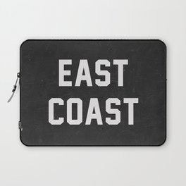 East Coast - black Laptop Sleeve