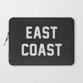 East Coast - black Laptop Sleeve