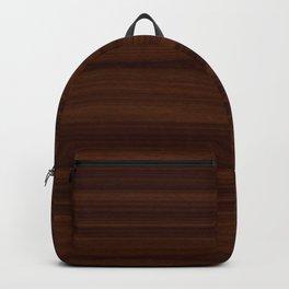 Dark Wood Texture Backpack