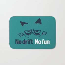 No drift No fun v2 HQvector Bath Mat