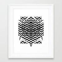 lynch Framed Art Prints featuring Lynch by Gabriele Cuscino