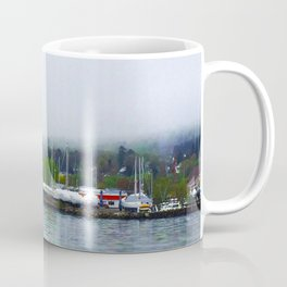 Madeline Island from the Bayfield Ferry Coffee Mug