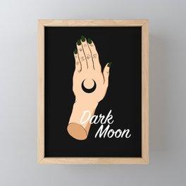 Dark Moon Framed Mini Art Print