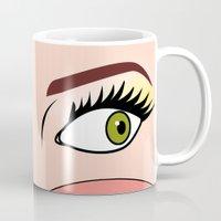 cartoon Mugs featuring cartoon  by mark ashkenazi
