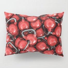 Kettlebells RED Pillow Sham