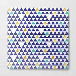 cozumel triangles Metal Print