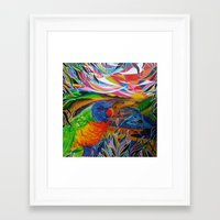 paradise Framed Art Prints featuring Paradise by shannon's art space