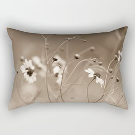 Yesterday with the wildflowers Rectangular Pillow