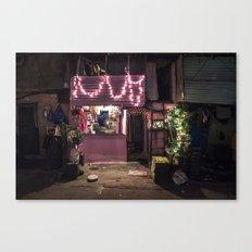 Divali Lights - Mahalaxmi, Mumbai, India Canvas Print