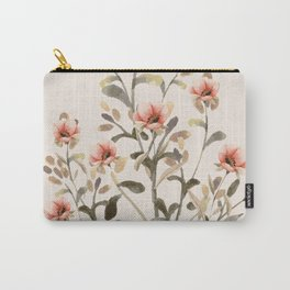Gentle Flowers Carry-All Pouch