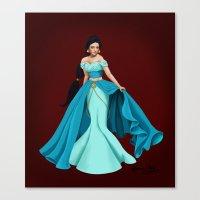 jasmine Canvas Prints featuring Jasmine by Katherine Mary