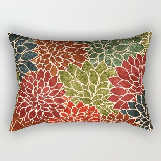 Floral Abstract 7 Rectangular Pillow