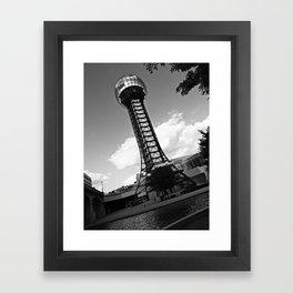 Knoxville Sunsphere Framed Art Print