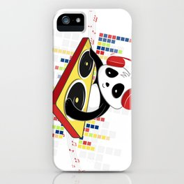 D.J Panda iPhone Case