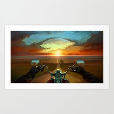 Land of the Winds Art Print
