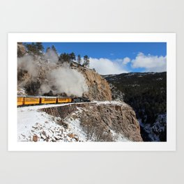 Durango / Silverton Narrow-Gage Railroad Art Print