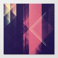 the xx Canvas Prints featuring Xx by NGHBRS