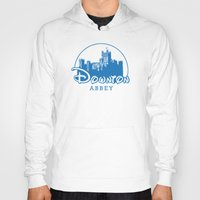 downton abbey Hoodies featuring The Wonderful World of Downton Abbey by rydrew