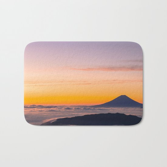Mountain in the Clouds Bath Mat
