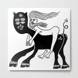 Kitty Love - Runaway Metal Print